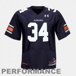 Bo Jackson Auburn Jersey Mens Blue #34 College Football 463071-501