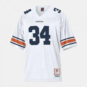 College Football For Men's Bo Jackson Auburn Jersey White #34 169763-382