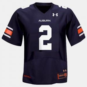 College Football Cam Newton Auburn Jersey For Men's Blue #2 480654-966