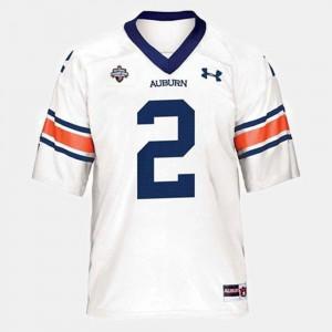 College Football Cam Newton Auburn Jersey Youth White #2 379662-790