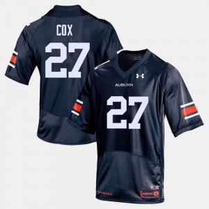 Chandler Cox Auburn Jersey #27 Navy College Football Mens 740679-992