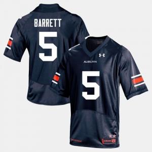 #5 Navy Devan Barrett Auburn Jersey Men's College Football 469890-395