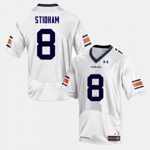 Jarrett Stidham Auburn Jersey White For Men's #8 College Football 169690-365