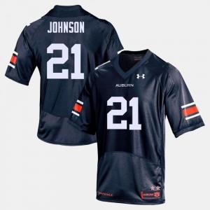 For Men Navy College Football Kerryon Johnson Auburn Jersey #21 573394-846