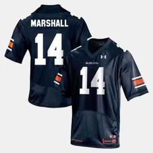 Nick Marshall Auburn Jersey Blue #14 Men's College Football 271886-248