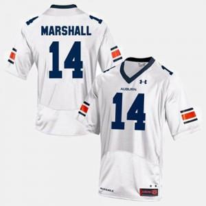 Youth(Kids) Nick Marshall Auburn Jersey White #14 College Football 540257-705