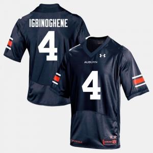College Football For Men's #19 Navy Noah Igbinoghene Auburn Jersey 802307-968