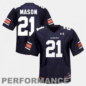 #21 Tre Mason Auburn Jersey Blue Youth(Kids) College Football 216290-652