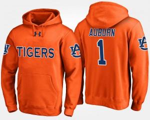 Auburn Hoodie Men No.1 #1 Orange 848231-973