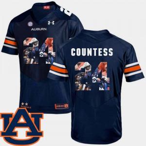 Blake Countess Auburn Jersey Pictorial Fashion #24 Football Men's Navy 768599-541