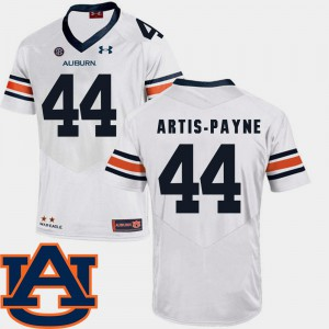 White SEC Patch Replica Cameron Artis-Payne Auburn Jersey #44 College Football For Men's 241685-609