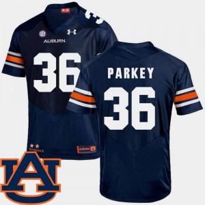 SEC Patch Replica #36 Cody Parkey Auburn Jersey Mens College Football Navy 662644-861