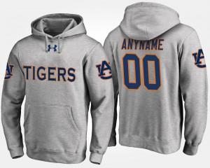 Auburn Custom Hoodies For Men Gray #00 869072-394