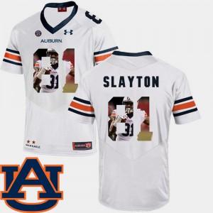 White Football Darius Slayton Auburn Jersey Men Pictorial Fashion #81 196065-408