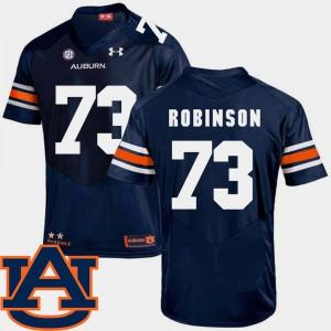 #73 Navy College Football SEC Patch Replica For Men Greg Robinson Auburn Jersey 430438-293