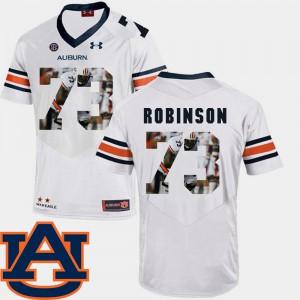 #73 Football Greg Robinson Auburn Jersey Pictorial Fashion White For Men's 168808-364