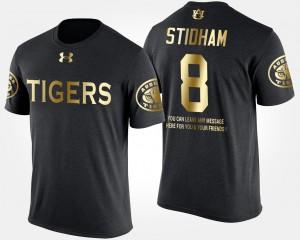 Black Gold Limited Jarrett Stidham Auburn T-Shirt Short Sleeve With Message Men's #8 263697-891