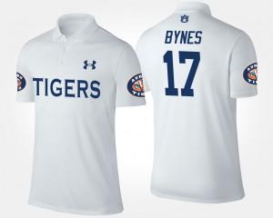 Josh Bynes Auburn Polo For Men's #17 White 994925-430
