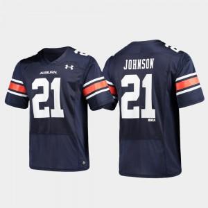 Replica Alumni Football Navy For Men's Kerryon Johnson Auburn Jersey #21 425213-485