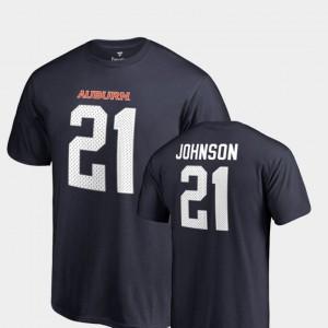 Navy Name & Number Kerryon Johnson Auburn T-Shirt College Legends #21 Mens 856082-438
