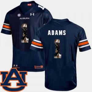 Pictorial Fashion Montravius Adams Auburn Jersey Navy #1 Football For Men 541653-283