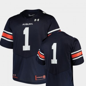Team Replica Navy College Football Men's Auburn Jersey #1 618341-774