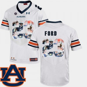 #23 Pictorial Fashion White Rudy Ford Auburn Jersey Football Mens 739362-182