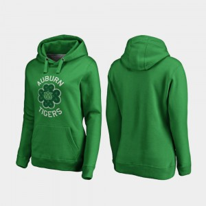 Kelly Green Womens St. Patrick's Day Auburn Hoodie Luck Tradition 370692-771